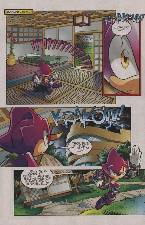 Read online Sonic The Hedgehog comic -  Issue #201 - 6
