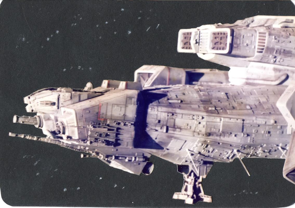 Alien Explorations: Alien: Four foot long Nostromo