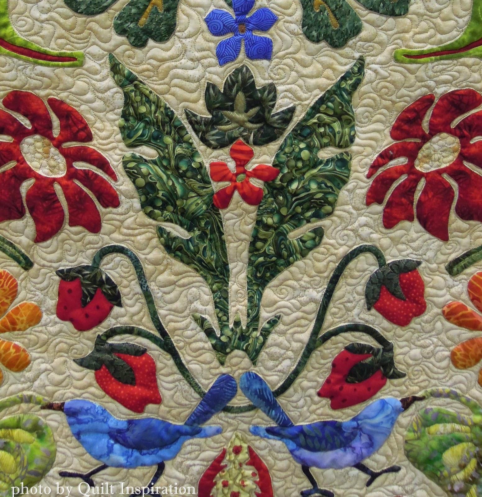 Quilt Inspiration William Morris For Applique Lovers