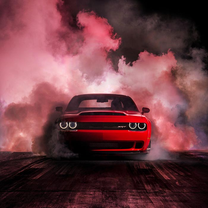 Hellcat Flashing Audio Visualizer Wallpaper Engine