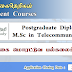 Postgraduate Diploma / M.Sc in Telecommunications - இலங்கை மொரட்டுவ பல்கலைக்கழகம்