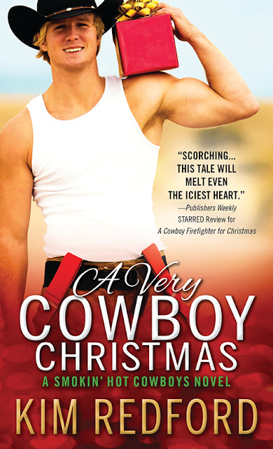 Excerpt, Giveaway, A Very Cowboy Christmas, Kim Redford, Bea's Book Nook