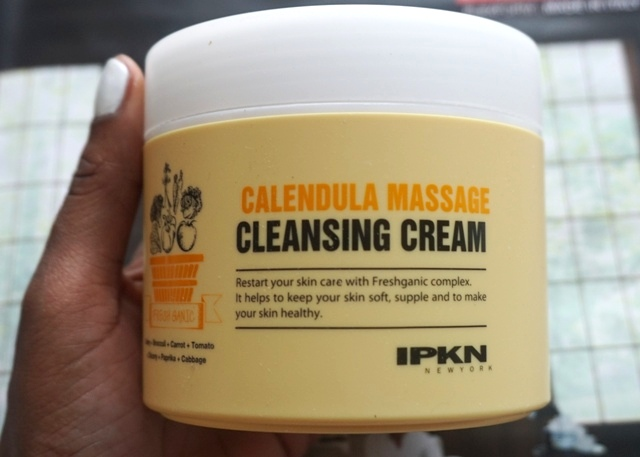 IPKN Calendula Massage Cleansing Cream (bellanoirbeauty.com)