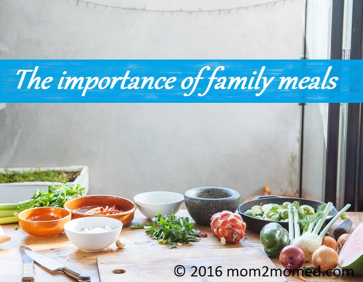 Importance of family dinners