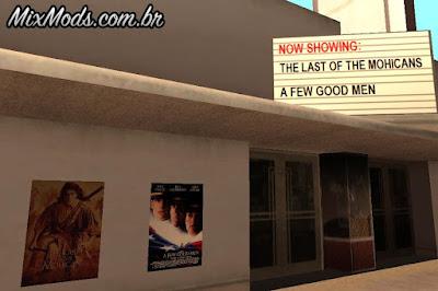 cartazes de filmes mod gta
