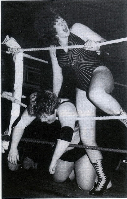 British ladies wrestling