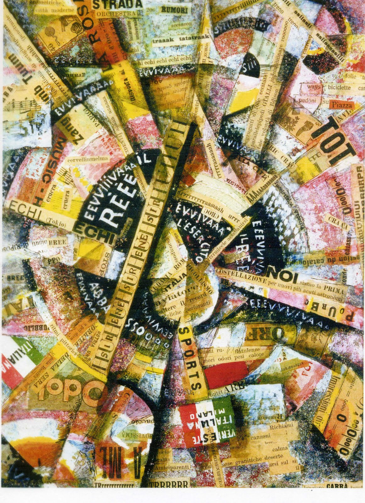 Bevorzugt ArtPlastoc: 10-COLLAGE, PHOTOMONTAGE, TABLEAU-RELIEF UQ34