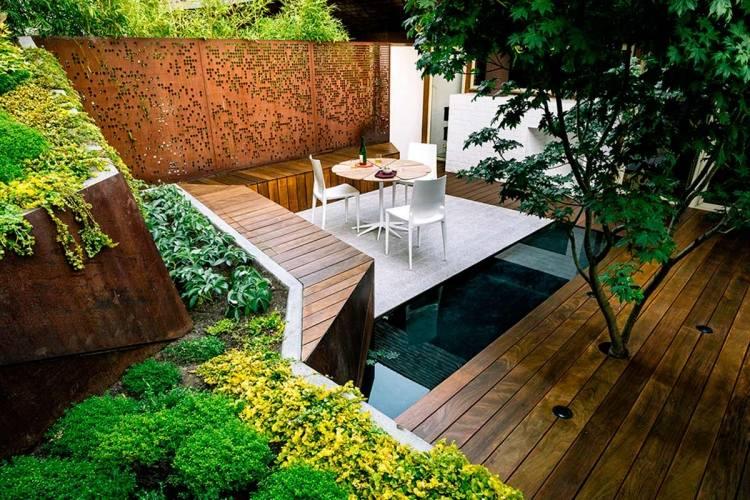 comment amnager son jardin extrieur et raliser une terrasse en bois composite