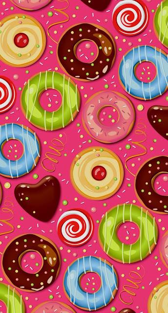 ciambelle, colori,