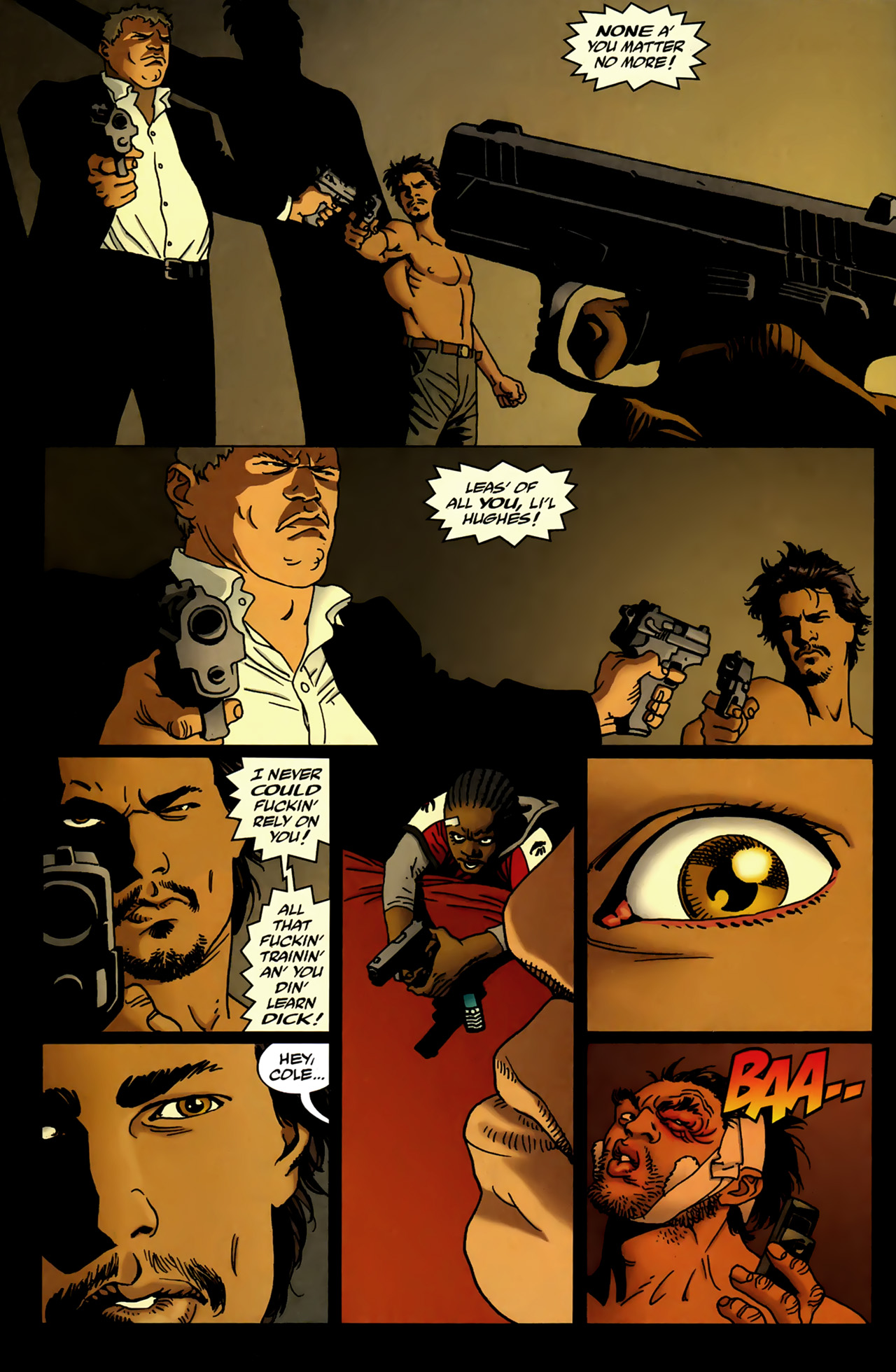 Read online 100 Bullets comic -  Issue #99 - 11