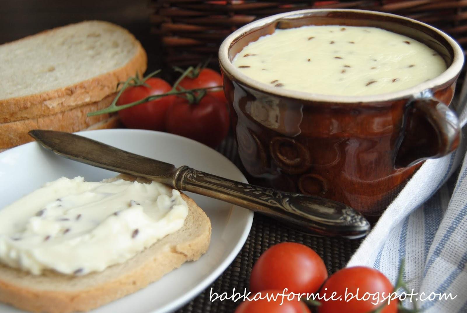ser smażony z kminkiem - kuchnia regionalna (Kujawy) babkawformie.blogspot.com