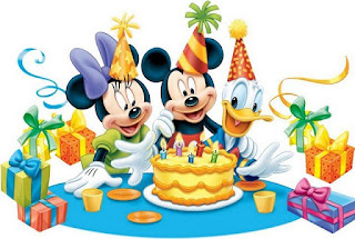 Clip Art de Minnie y Mickey.