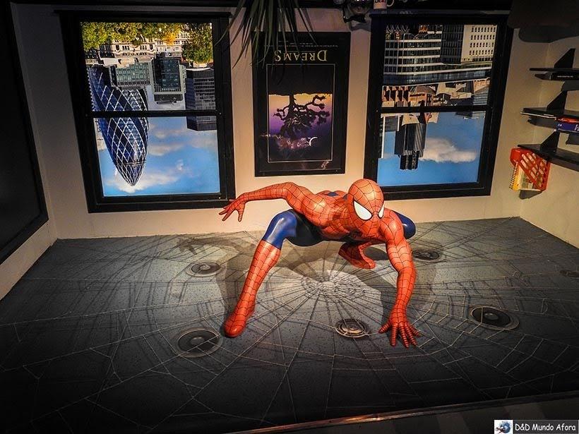Homem Aranha - Madame Tussauds: Como visitar o museu de cera de Londres