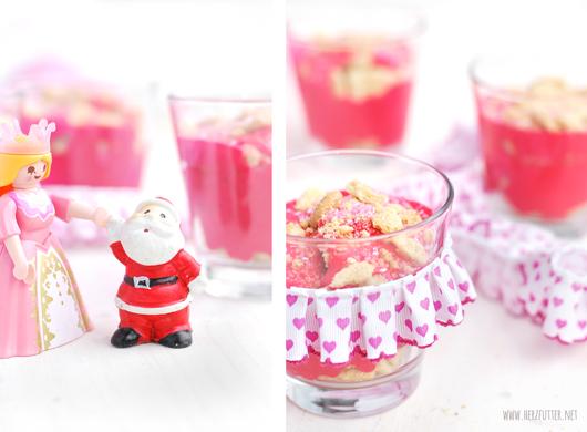 Pinkes Dessert