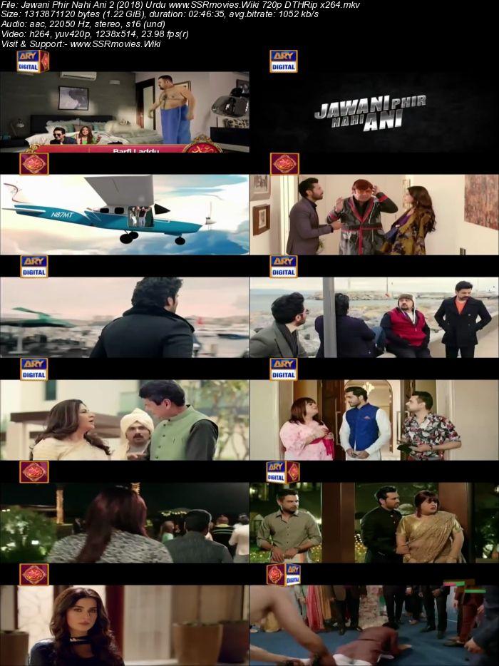 Jawani Phir Nahi Ani 2 (2018) Urdu 720p DTHRip x264 1.2GB Movie Download