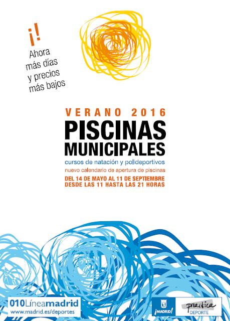 Piscinas municipales verano 2016 vicalv blog distrito for Piscina municipal vicalvaro