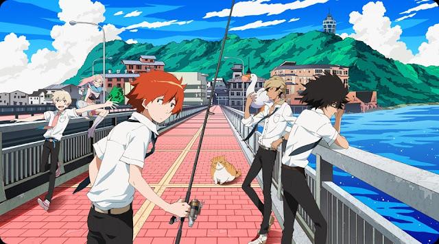 Tsuritama 15 Anime Terbaik Berlatar Pedesaan