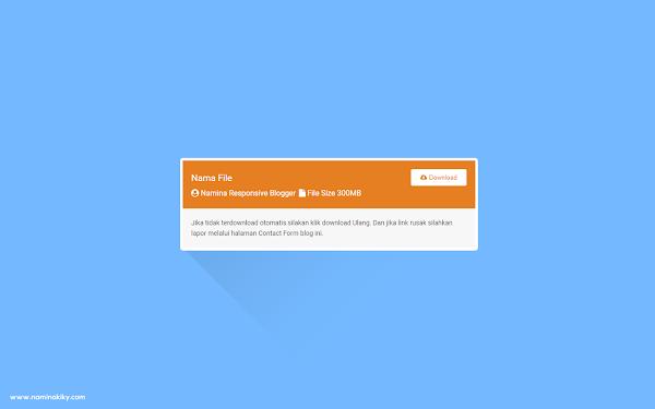 Memasang Tombol Download Box dengan Counter