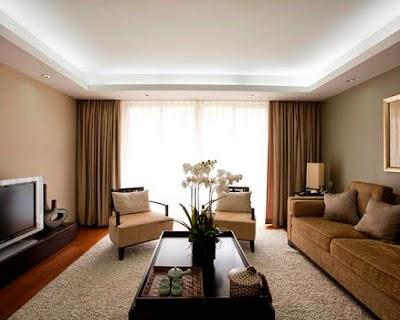 model gaya terbaru ruang tamu minimalis