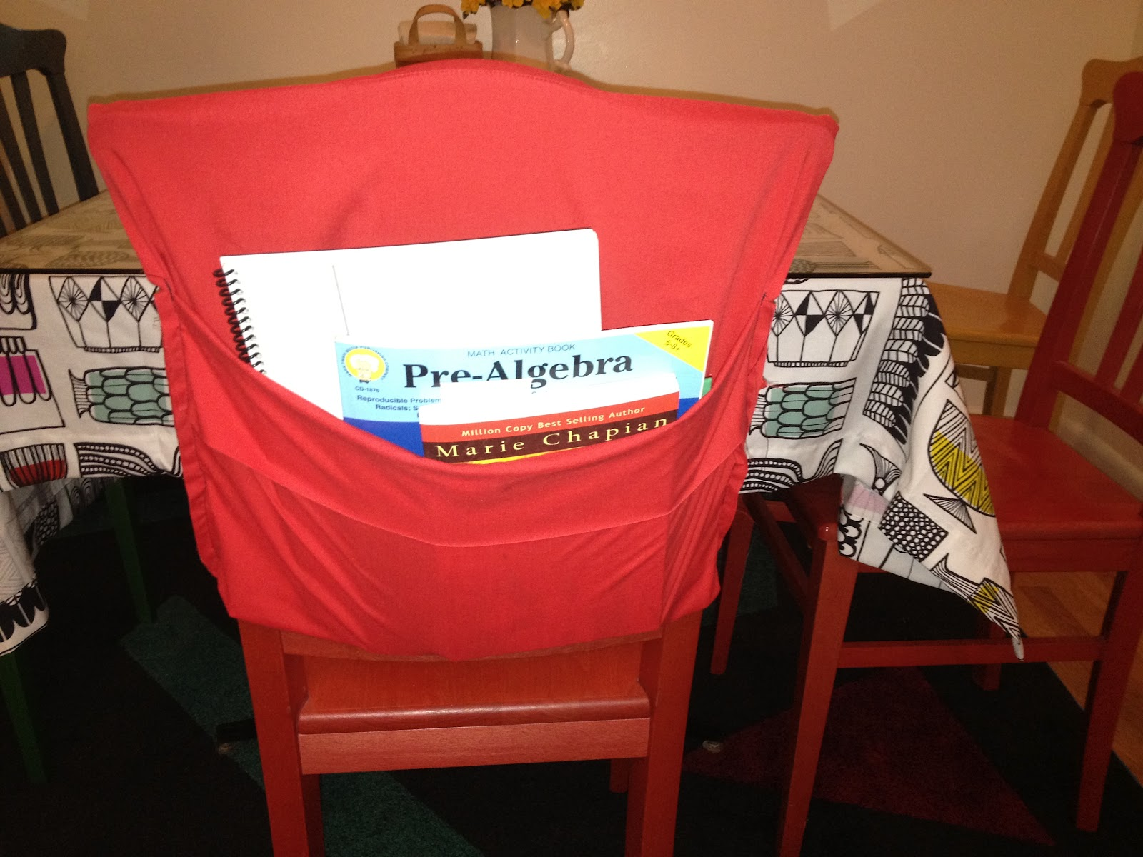 diy classroom chair covers cane seat chairs outside the box back book bag