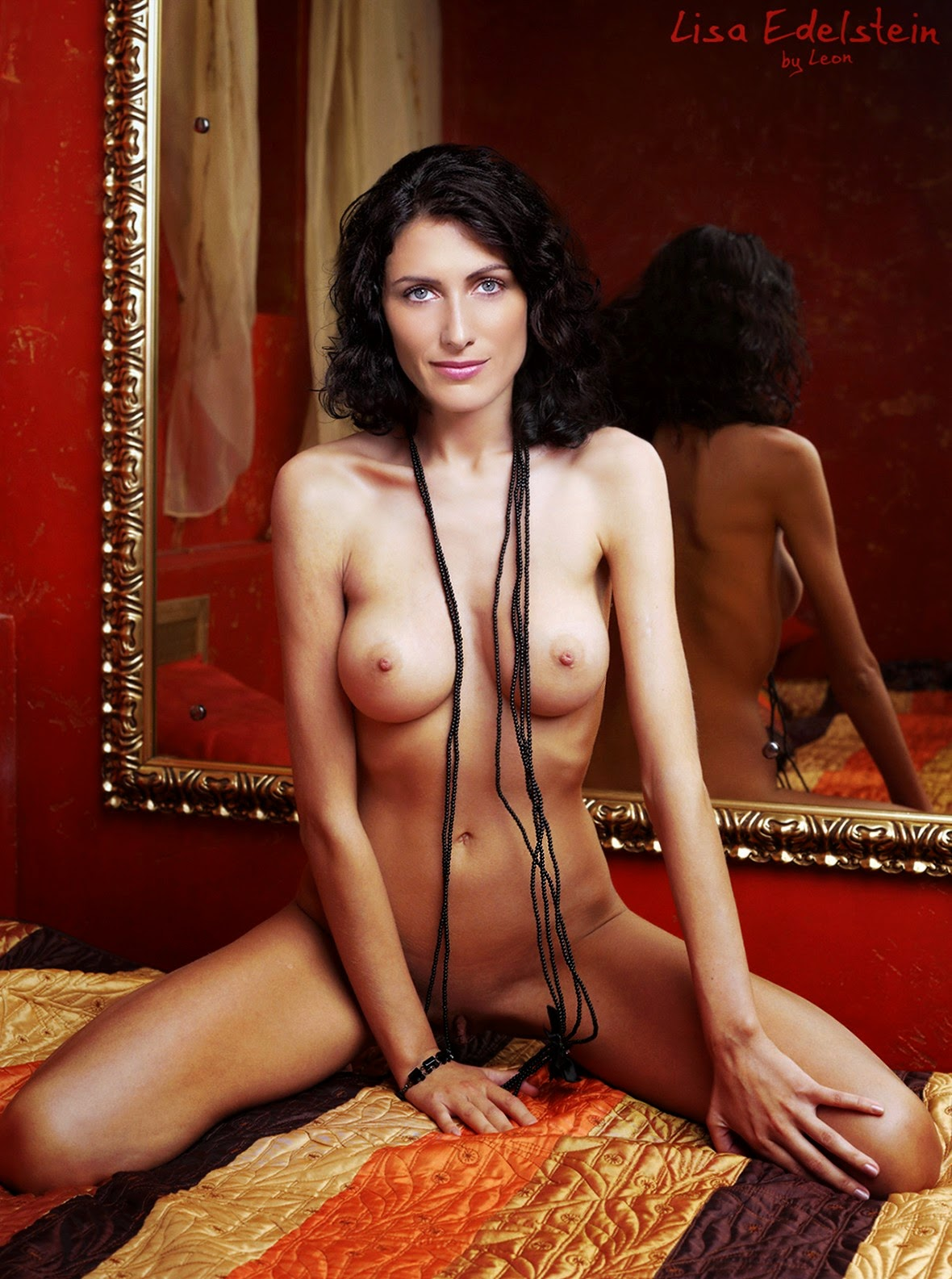 Topless lisa edelstein