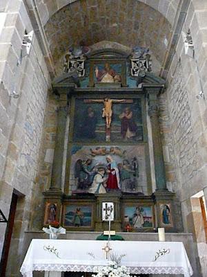 altar mayor del convento de San Ildefonso