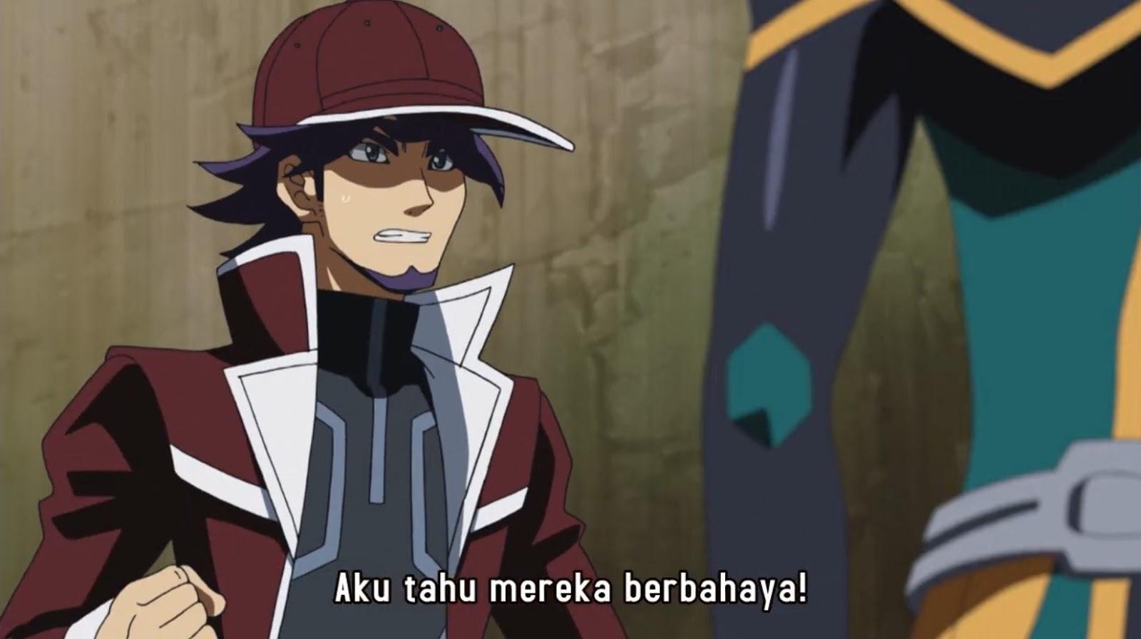 yugioh vrains episode 64 subtitle indonesia  black avelic