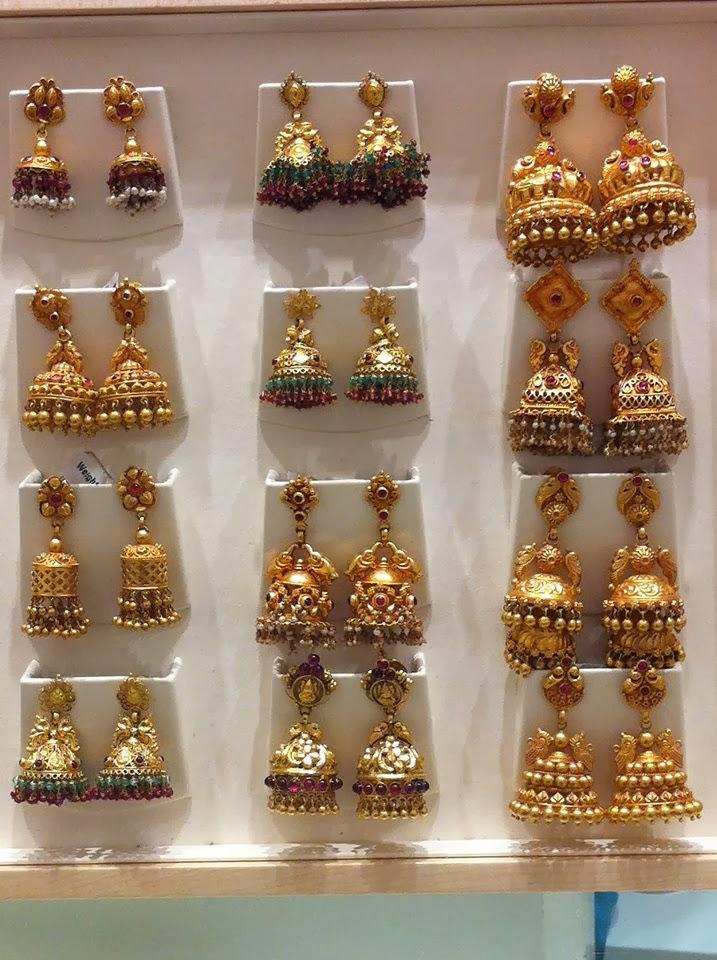Jhumki Collection Jewellery Designs