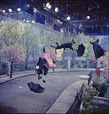 Mary Poppins detrás de las cámaras