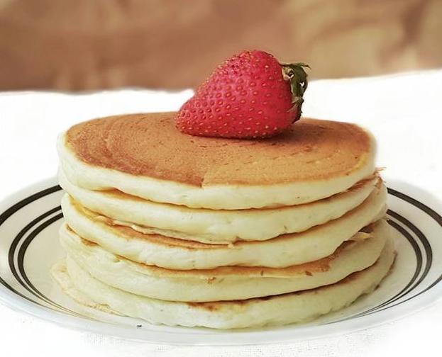 The Best Yogurt Pancake