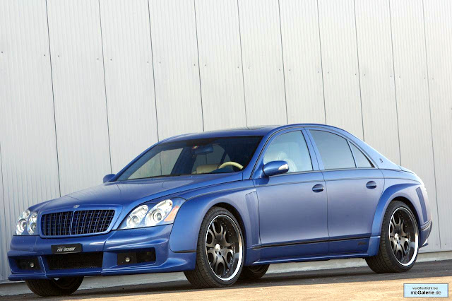 maybach tuning bodykit
