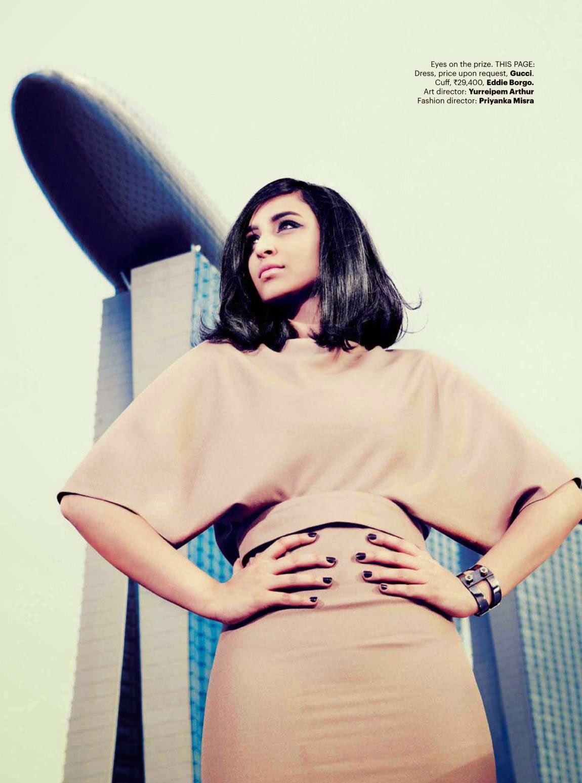 Parineeti Chopra Harpers Bazaar Magazine Photos
