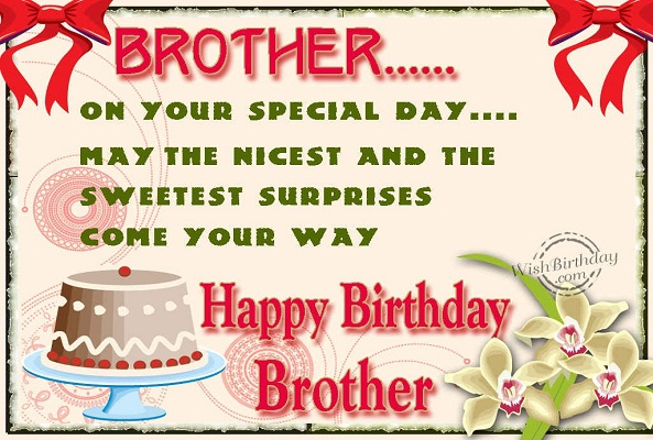 Top Images of Happy Bi... Happy Birthday Quotes For Younger Brother