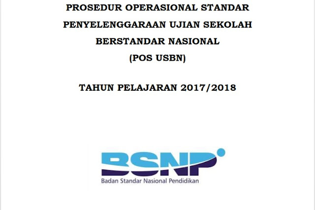 POS USBN TAHUN PELAJARAN 2017-2018