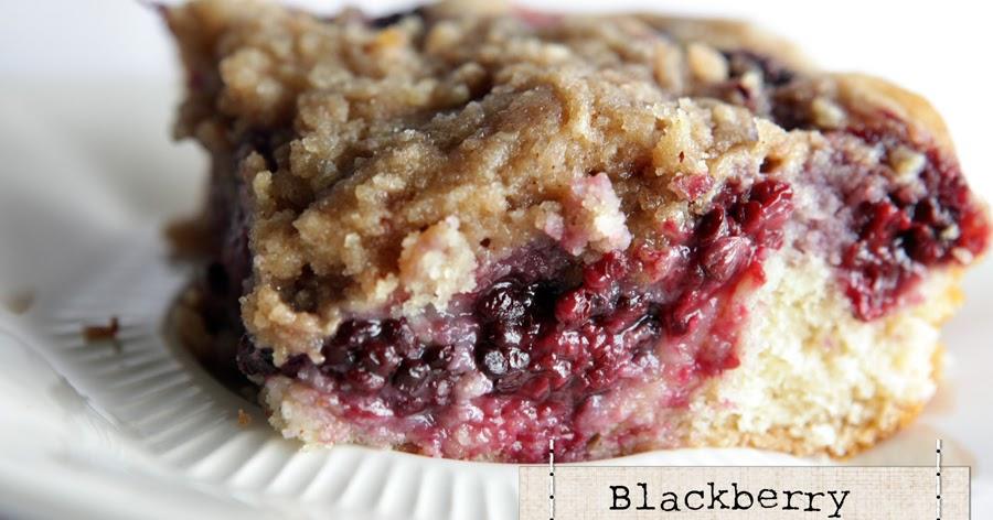 Blackberry Coffee Cake Paula Deen