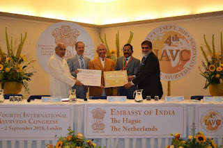 4th International Ayurveda Congress held in Leiden, Netherlands
