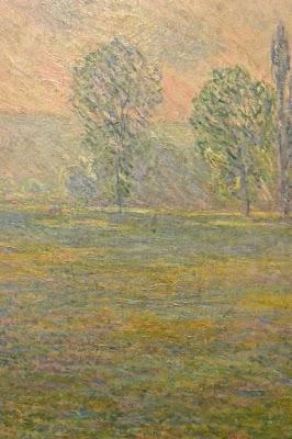 Claude Monet Saint Pétersbourg musée Ermitage 2 Etat-Major en face du palais d'Hiver