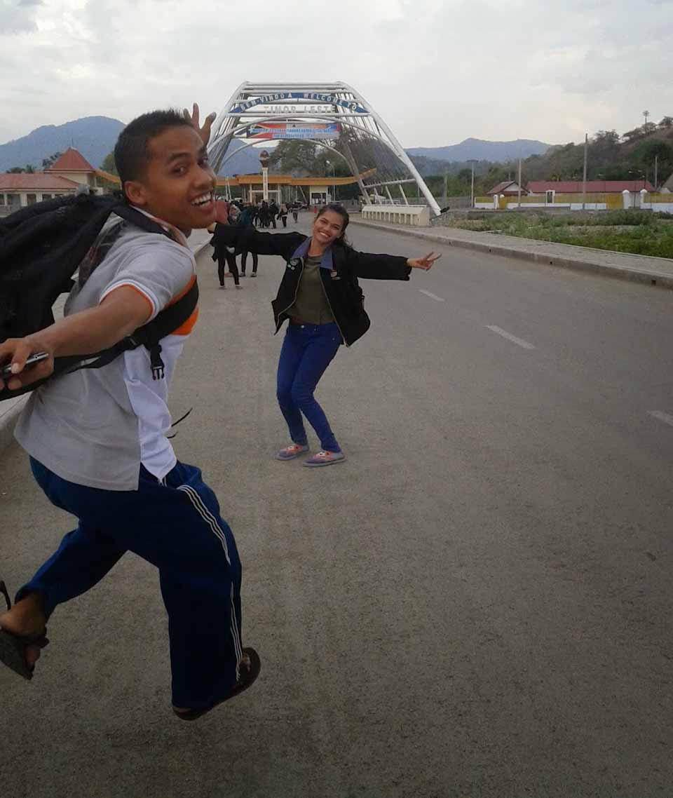Diperbatasan Timor Leste