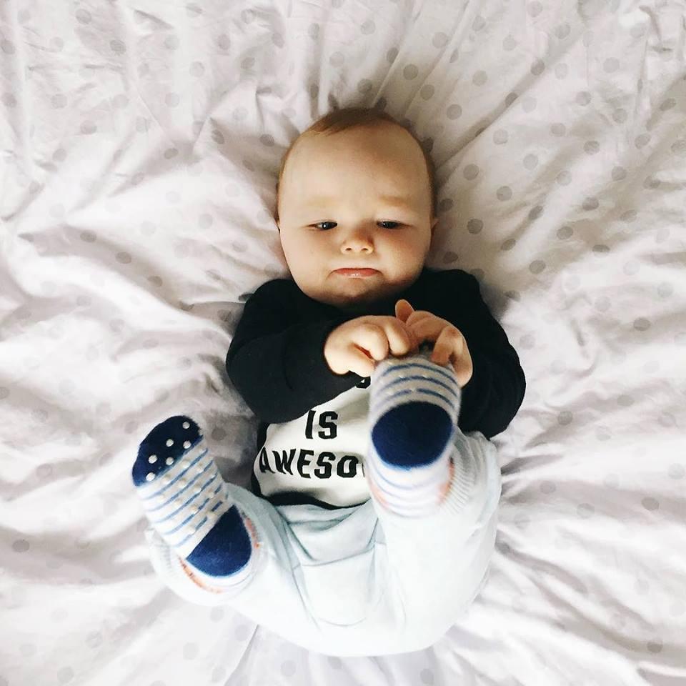 Tyler is 9 months old | 9 month baby update | www.lovemaisie.com | Love, Maisie