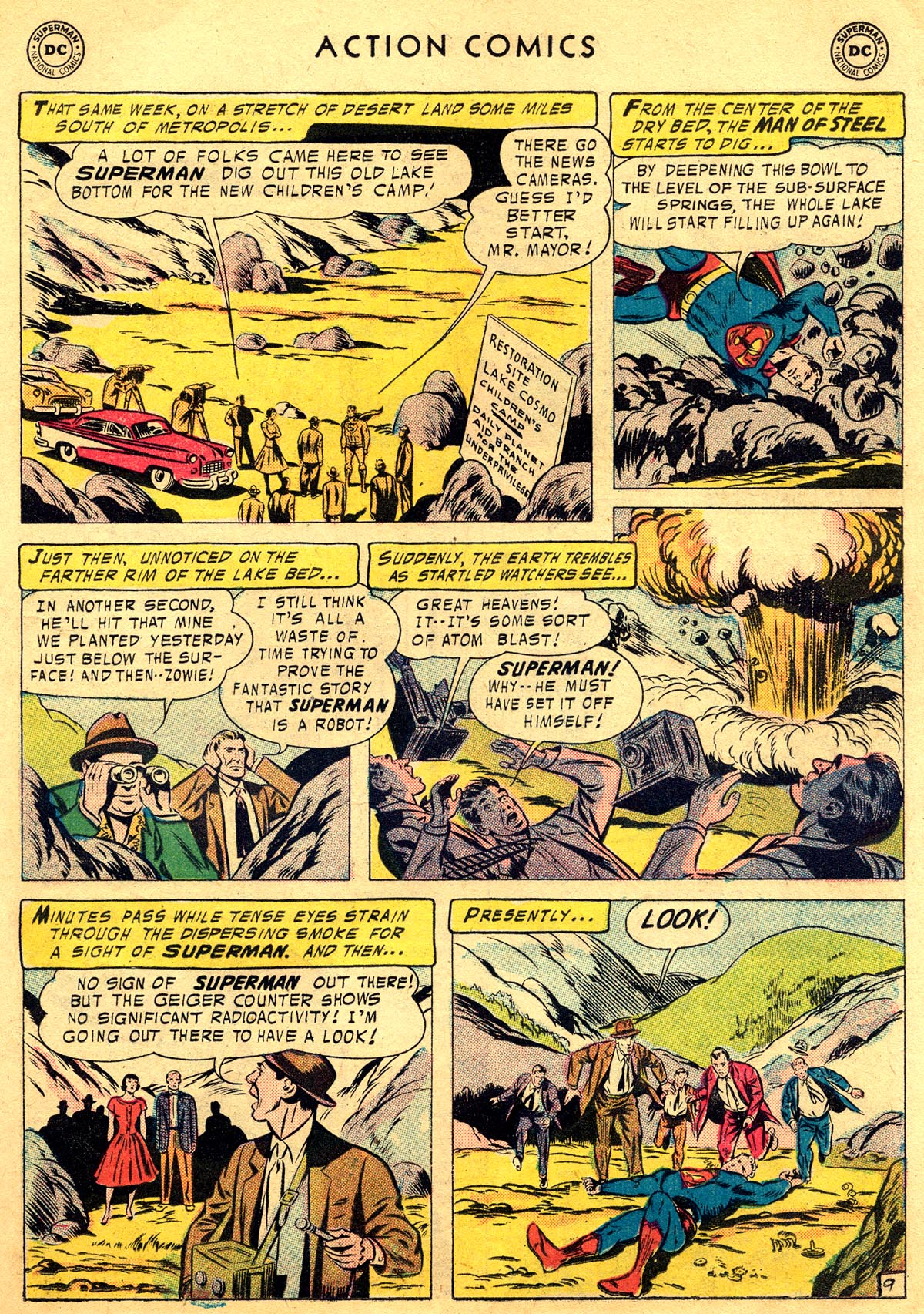 Read online Action Comics (1938) comic -  Issue #225 - 11