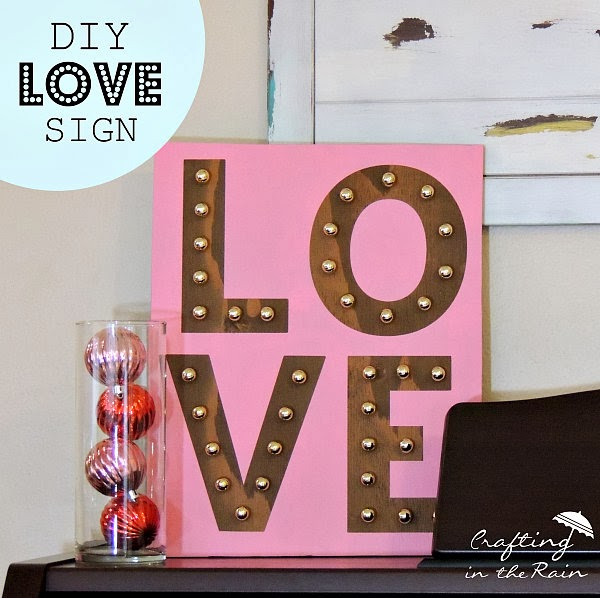 Love Marquee | Crafting in the Rain