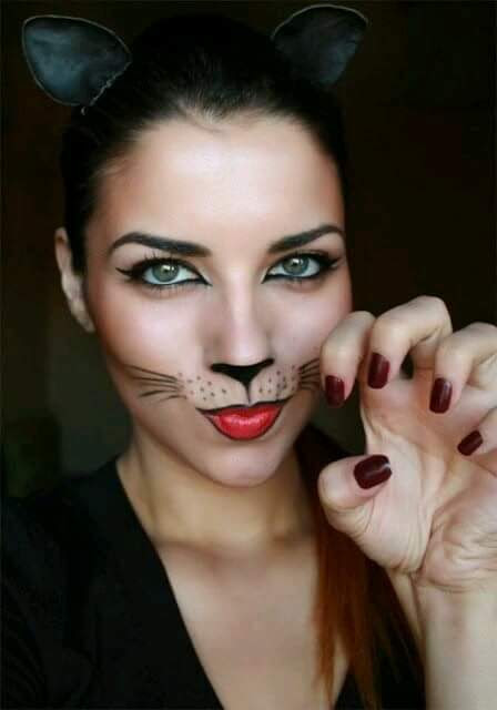 "MAQUILLAJE GATUNO ""TRICK OR TREAT"""