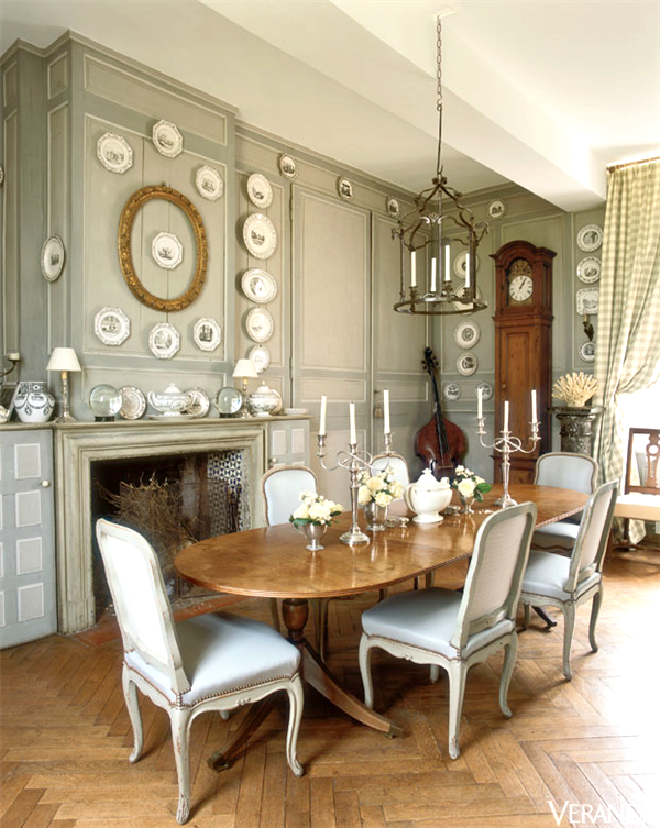 Charles Spada French Chateau Interiors