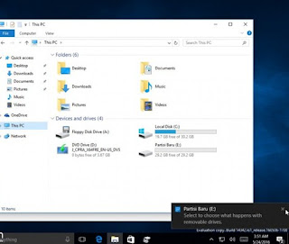 Cara Membuat Partisi Baru di Windows 10