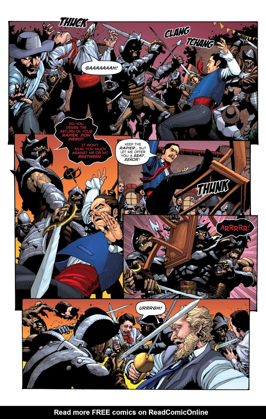 Zorro: Swords of Hell Issue #1 Page 10