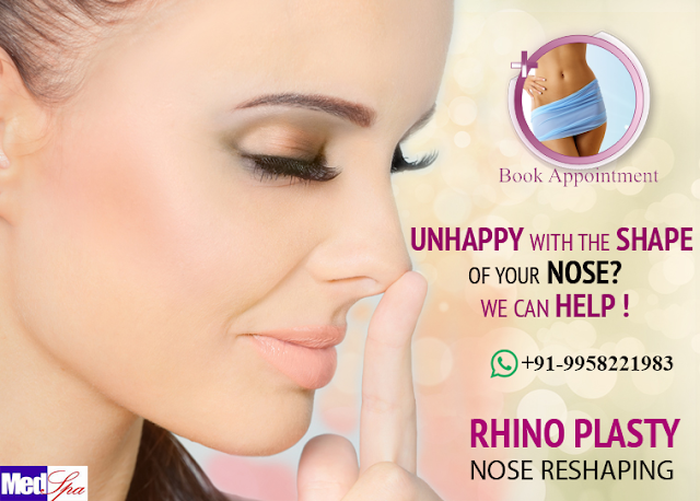 best rhinoplasty surgery cost in india