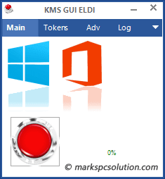 KMS Activator Window