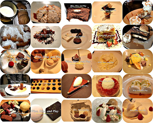 From Wine dine And Play these desserts feature restaurant creations in South Africa, Dubai, Ireland, and Australia