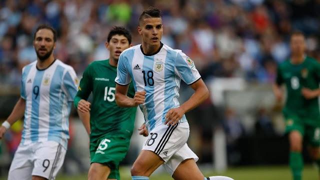 Dua Tahun Absen, Erik Lamela Masuk Timnas Argentina Lagi
