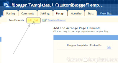 How to Install Custom Template in Blogger Blog